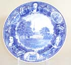Plate Longmeadow Massachusetts c1970s