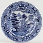 Toy Soup Plate c1890