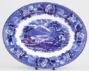 Meat Dish or Platter small c1955