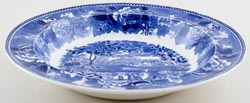 Wedgwood Landscape Soup or Pasta Plate c1952