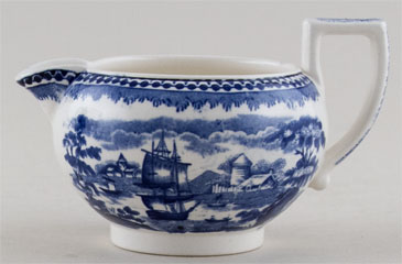 Wedgwood Landscape Small Jug or Creamer c1950s