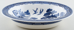 Wedgwood Willow Serving Dish c1960s