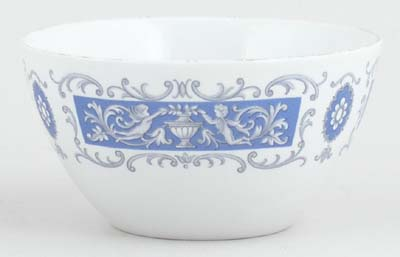 Ridgway Blue Rhapsody Sugar Bowl
