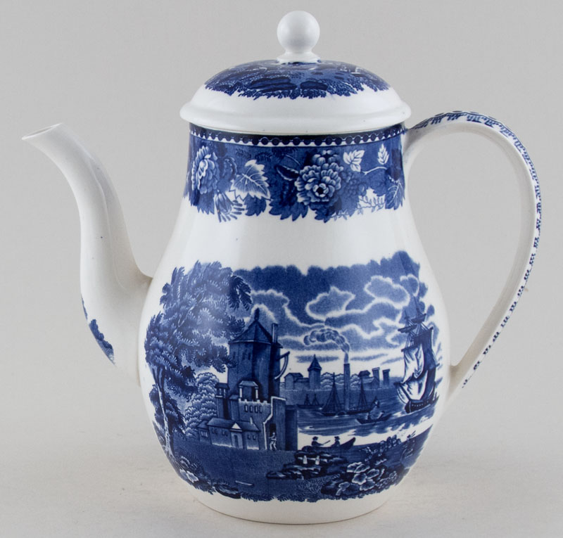Wedgwood Landscape Coffee Pot c1950s