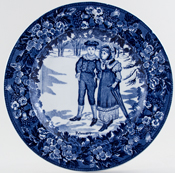 Plate February c1920s