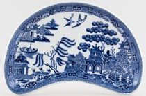 Wedgwood Willow Crescent Side Dish c1929