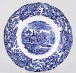 Wedgwood Chinese Soup Plate c1920s