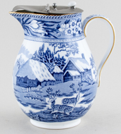 Jug or Pitcher Hot Water c1910