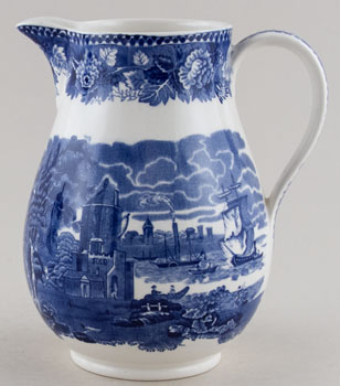 Wedgwood Landscape Jug or Pitcher c1950s