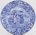 Plate July c1920s