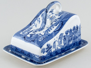 Wedgwood Willow Cheese Dish c1930