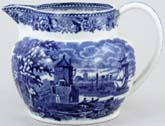 Wedgwood Landscape Jug or Pitcher c1930s