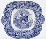 Bread and Butter or Cake Plate c1922
