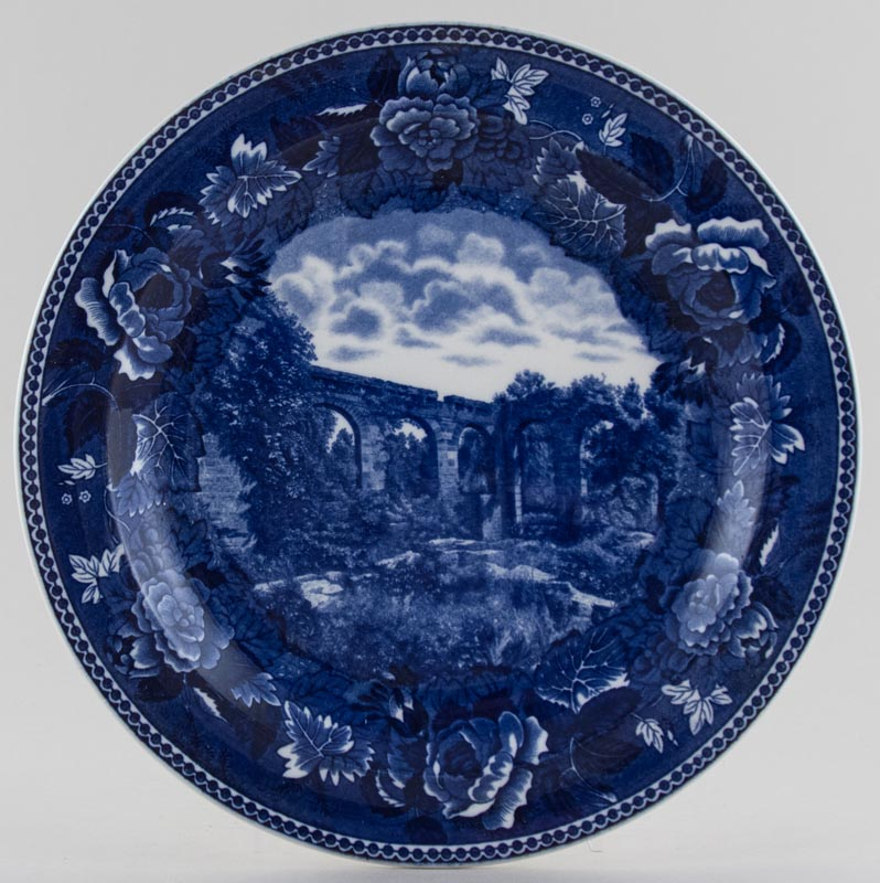 Wedgwood American Commemorative Plate Ruins of Old Spanish Mission c1930