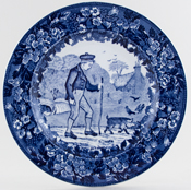 Plate October c1923