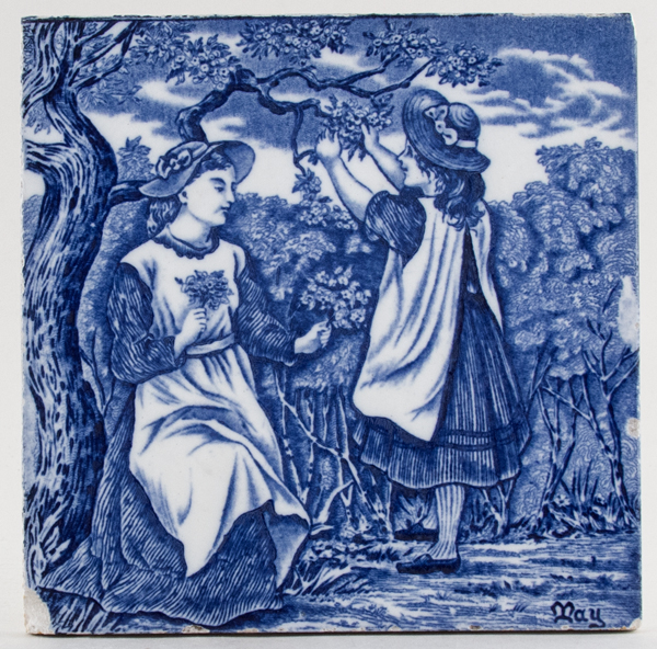 Wedgwood Old English Tile May c1920s