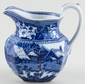 Jug or Pitcher octagonal c1924