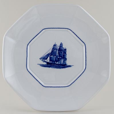 Wedgwood American Clipper Soup Tureen Stand Flying Cloud c1980