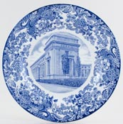 Wedgwood American Commemorative Plate Massachusetts Institute c1930