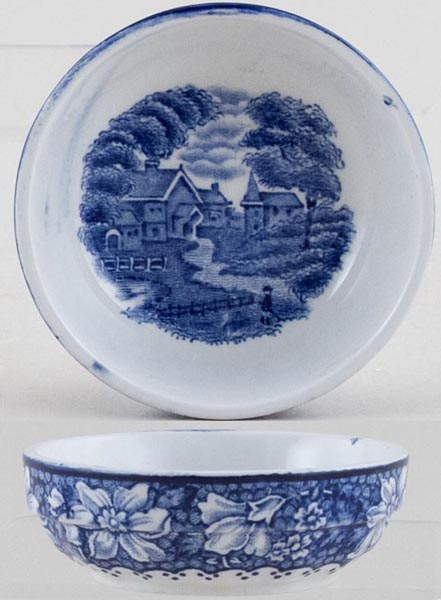 Woods English Scenery Dish c1930s