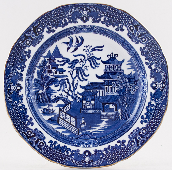 Burgess and Leigh Willow Plate c1932