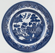 Churchill Willow Plate c1980s