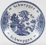 Barratts Willow Dish Schweppes Promotional