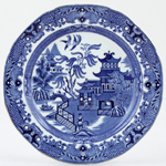 Burleigh Willow Plate c1930s
