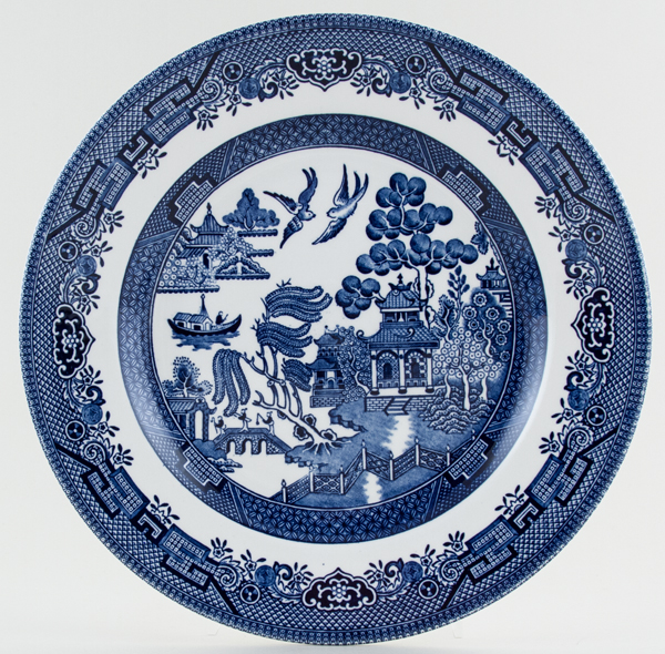 Churchill Willow Plate c1990