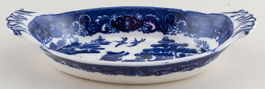 Spode Willow Dish c1930s