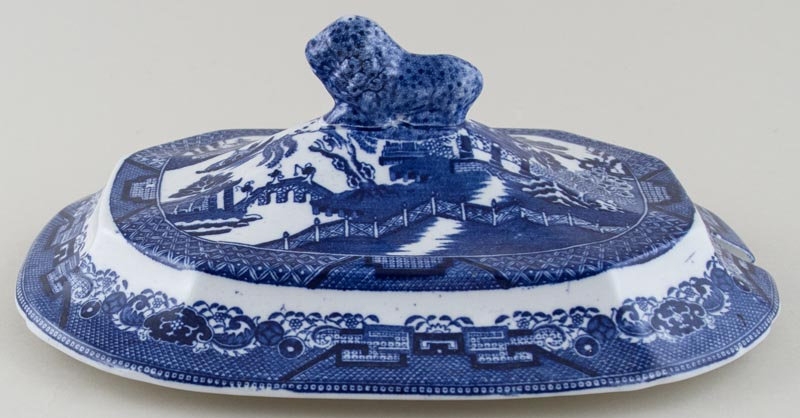 Wedgwood and Co Willow Soup Tureen Cover c1900