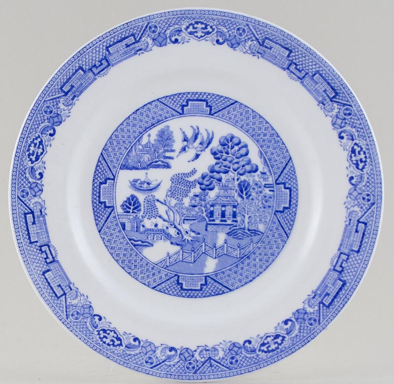 Plant Willow Plate c1930s