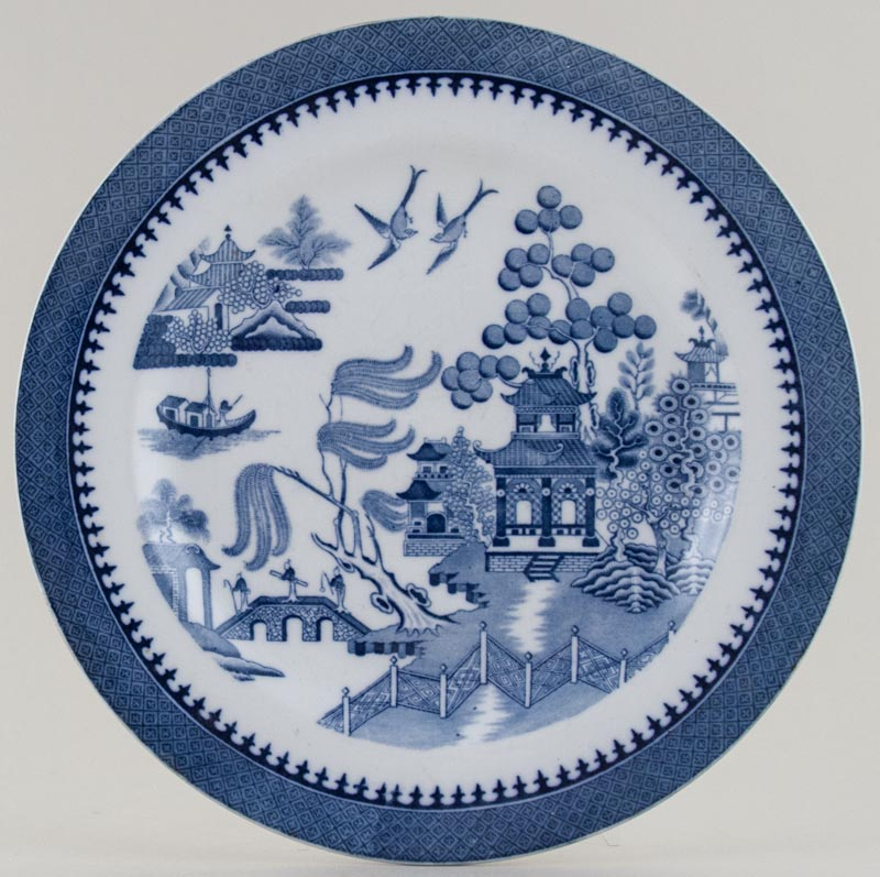 Minton Willow Plate c1934