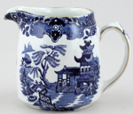 Burleigh Willow Jug or Pitcher c1950s