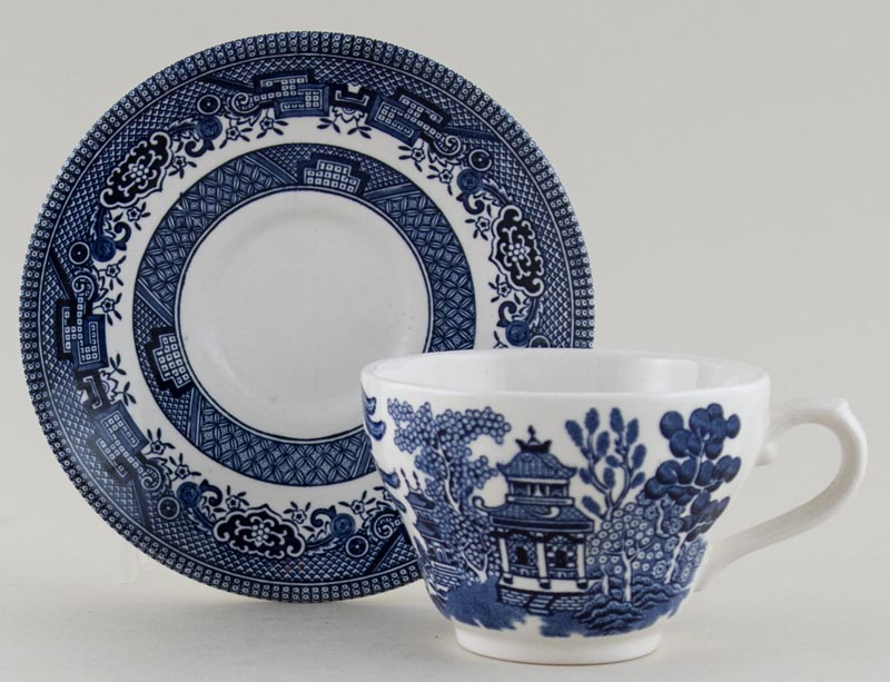 Broadhurst Willow Teacup and Saucer