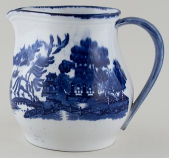 Doulton Willow Jug or Pitcher c1900