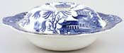 Burgess and Leigh Willow Covered Vegetable Dish c1930s
