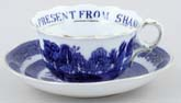 Teacup and Saucer Shanklin c1910
