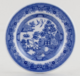 Spode Blue Room Miniature Plate Willow c1999