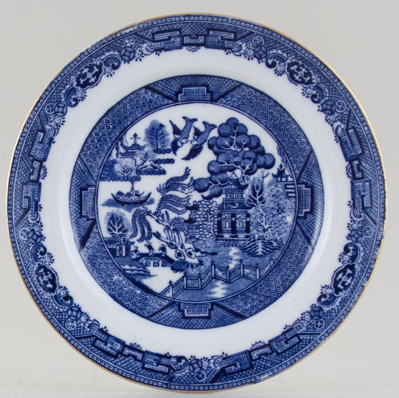 Hudson and Middleton Willow Plate c1930s