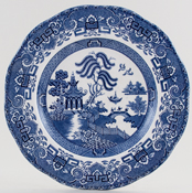 Wedgwood and Co Willow Plate c1950s