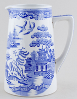 Dunn Bennett Willow Jug or Pitcher large c1930s