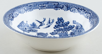 Wedgwood Willow Cereal or Dessert Bowl c1960s
