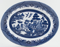 Churchill Willow Meat Dish or Platter c1990s