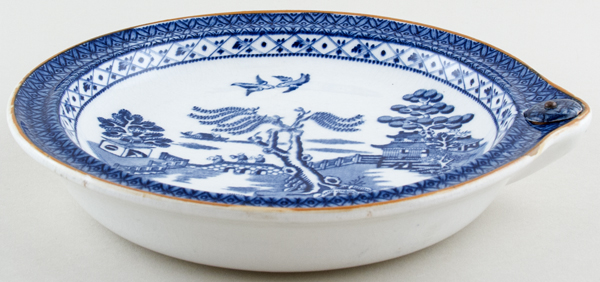 Booths Willow Warming Dish c1920s