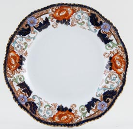 Woods Verona colour Salad or Dessert Plate c1923