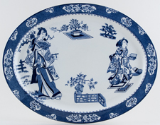 Woods Tsing Meat Dish or Platter c1921