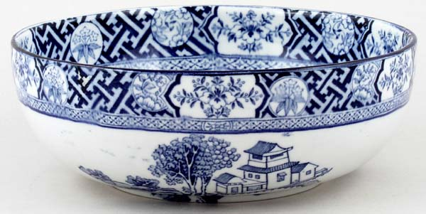 Woods Kang Hi Bowl c1920s