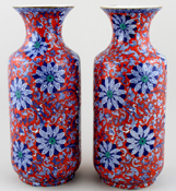 Vases Pair of Large c1920s