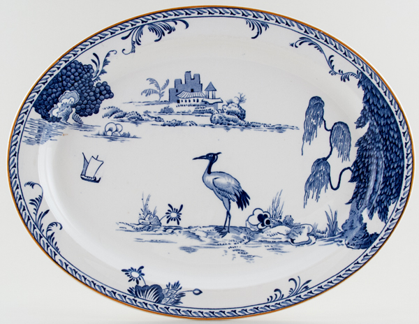 Woods Manchu Meat Dish or Platter c1932